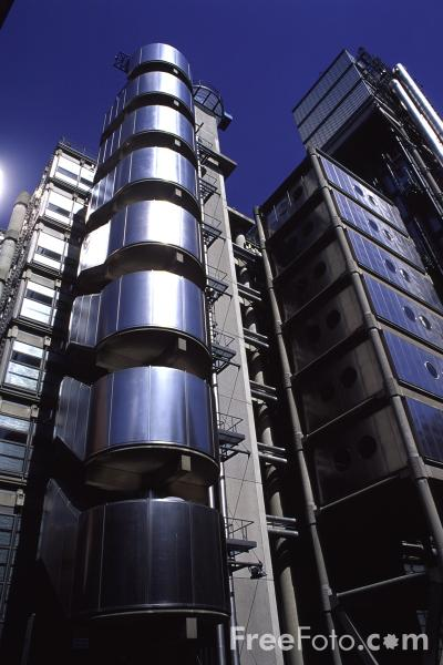 Picture of Lloyd's of London, The City of London - Free Pictures - FreeFoto.com
