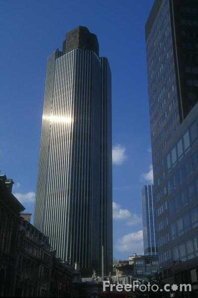 Picture of Tower 42 - The tallest building in the City of London - Free Pictures - FreeFoto.com