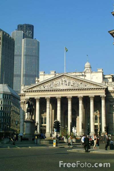 Picture of Royal Exchange, The City of London - Free Pictures - FreeFoto.com