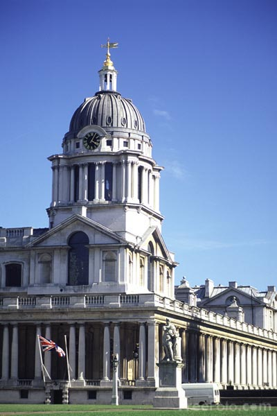 Picture of Naval College, Greenwich - Free Pictures - FreeFoto.com