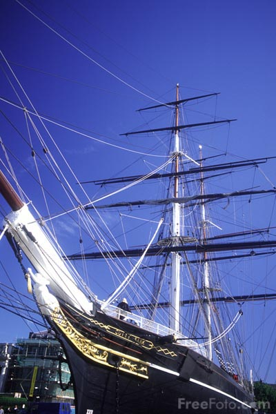Picture of The Cutty Sark, Greenwich - Free Pictures - FreeFoto.com