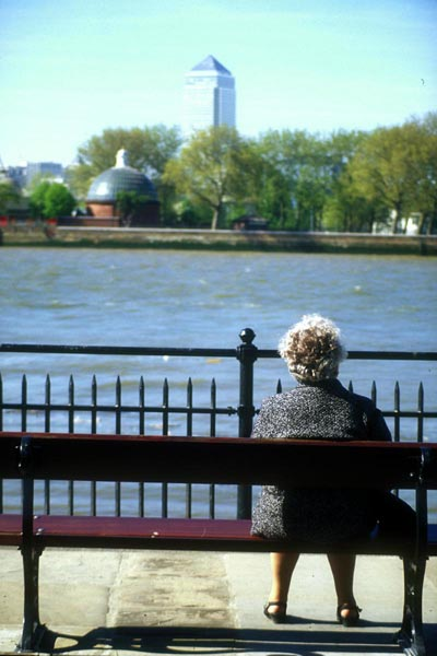 Picture of The River Thames, Greenwich - Free Pictures - FreeFoto.com