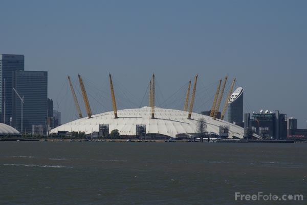Picture of The Millennium Dome - Free Pictures - FreeFoto.com