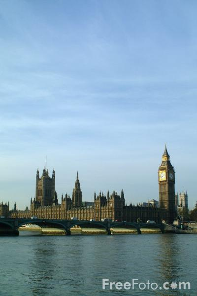 Picture of The Houses of Parliament, London, England - Free Pictures - FreeFoto.com