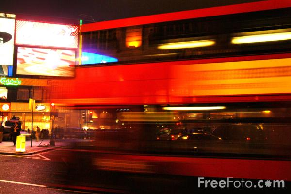 Picture of London double decker bus - Free Pictures - FreeFoto.com