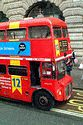 Image Ref: 31-10-58 - Red Routemaster double decker bus, London, England, Viewed 5355 times