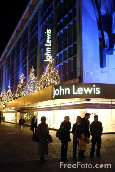 Picture of John Lewis, Oxford Street, London - Free Pictures - FreeFoto.com