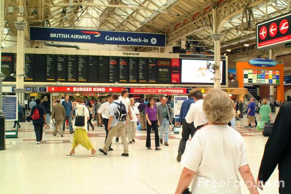 Victoria Station, London pictures, free use image, 31-12-4 by ...