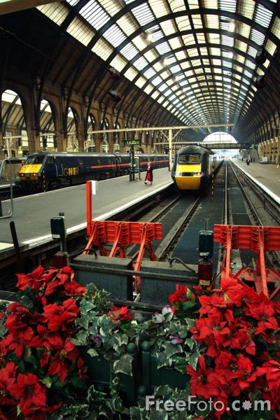 Picture of Kings Cross Station, London - Free Pictures - FreeFoto.com