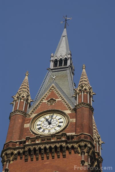 Picture of St Pancras railway station - Free Pictures - FreeFoto.com