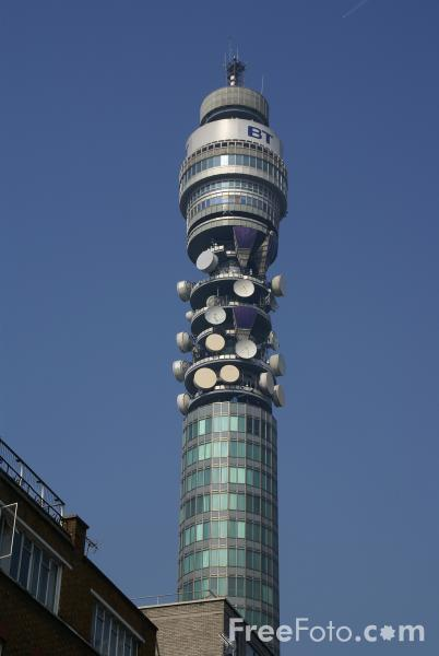 Picture of BT Tower, London, England - Free Pictures - FreeFoto.com