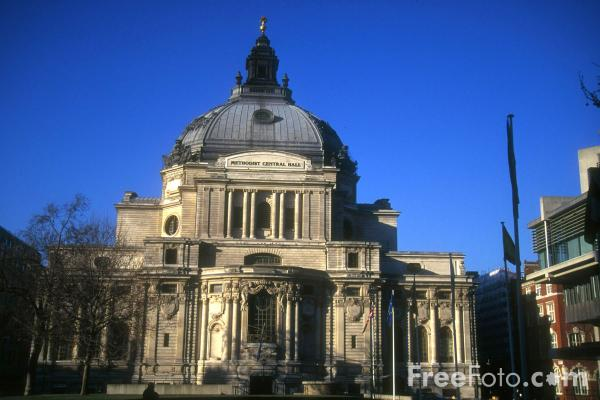 Picture of Methodist Central Hall - Free Pictures - FreeFoto.com