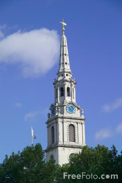 Picture of St.Martin in the Fields, London, England - Free Pictures - FreeFoto.com