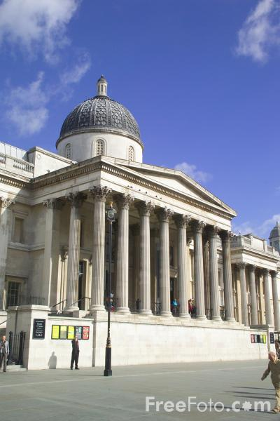 Picture of National Gallery, London, England - Free Pictures - FreeFoto.com