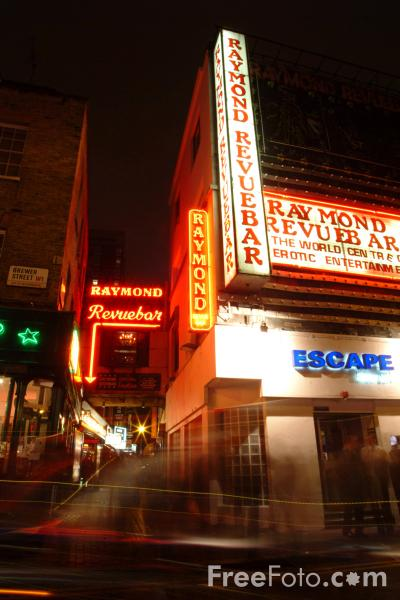 Picture of Raymond Revue Bar, Soho, London, England - Free Pictures - FreeFoto.com