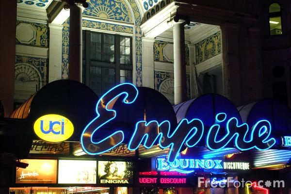 Picture of The Empire, Leicester Square - Free Pictures - FreeFoto.com