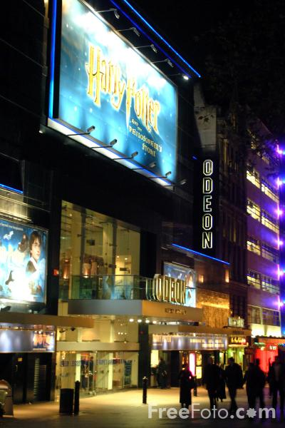 Picture of The Odeon, Leicester Square - Free Pictures - FreeFoto.com