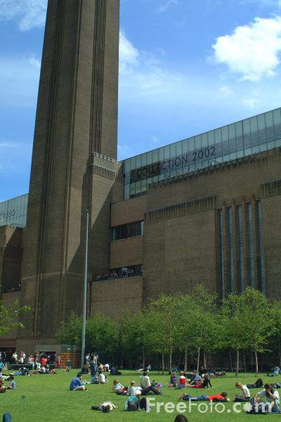 Picture of Tate Modern, London, England - Free Pictures - FreeFoto.com