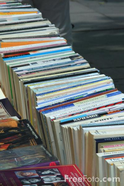 Picture of Book Fair, South Bank, London, England - Free Pictures - FreeFoto.com