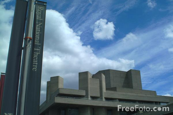 Picture of Royal National Theatre, South Bank, London - Free Pictures - FreeFoto.com
