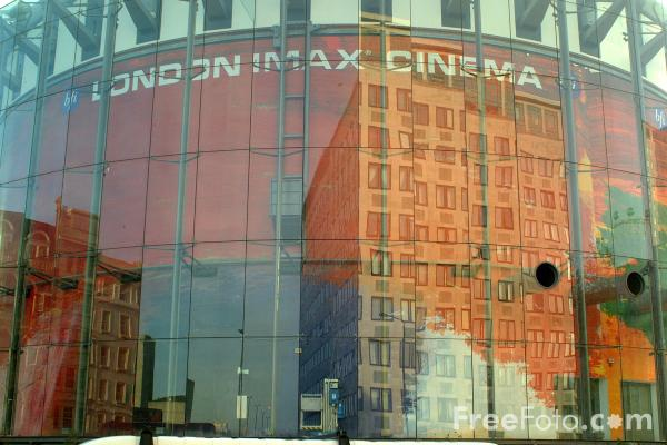 Picture of London IMAX Cinema, South Bank, London - Free Pictures - FreeFoto.com