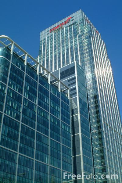 Picture of 25 Canada Square - Citigroup - Free Pictures - FreeFoto.com