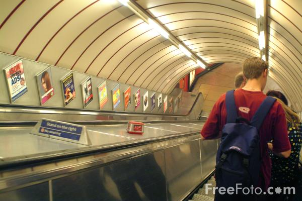 Picture of London Underground - Free Pictures - FreeFoto.com