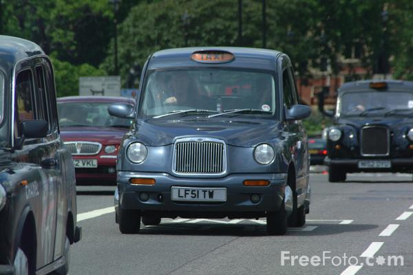 Picture of Hackney Carriage, London, England - Free Pictures - FreeFoto.com