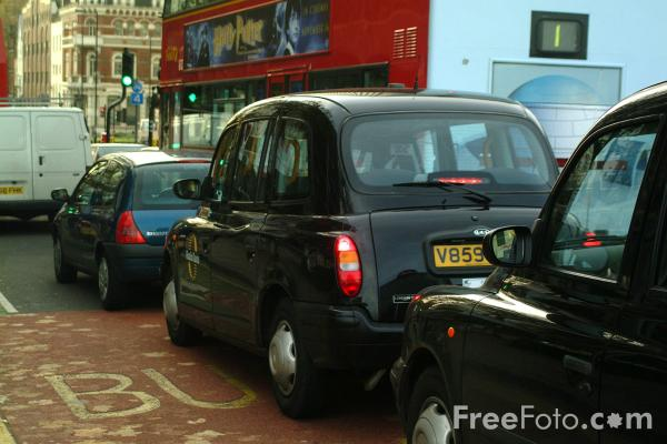 Picture of London Traffic Congestion - Free Pictures - FreeFoto.com