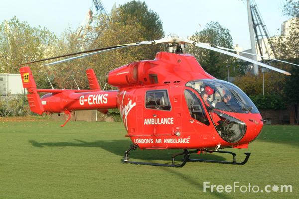 Picture of London Air Ambulance - Free Pictures - FreeFoto.com