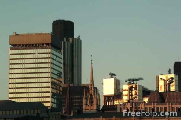Picture of The City of London - The Square Mile - Free Pictures - FreeFoto.com