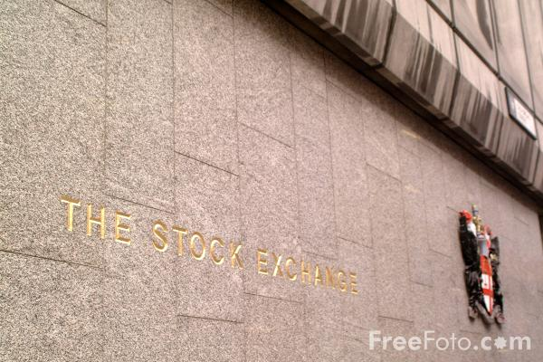 Picture of The London Stock Exchange - Free Pictures - FreeFoto.com