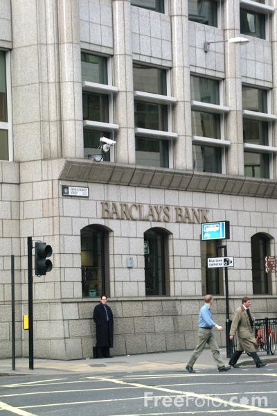 Picture of Barclays Bank, The City of London - Free Pictures - FreeFoto.com