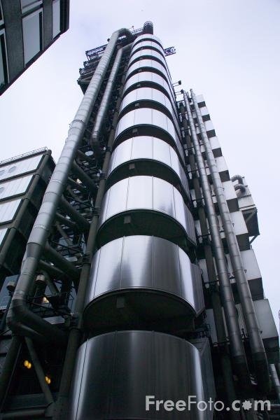Picture of Lloyd's building - Free Pictures - FreeFoto.com