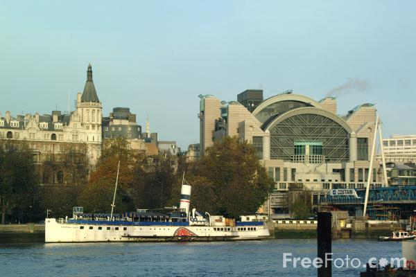 Picture of The River Thames, London - Free Pictures - FreeFoto.com