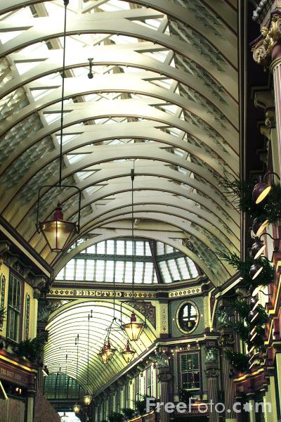 Picture of Leadenhall Market - Free Pictures - FreeFoto.com