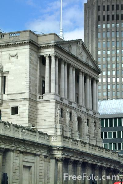 Picture of The Bank of England - Free Pictures - FreeFoto.com