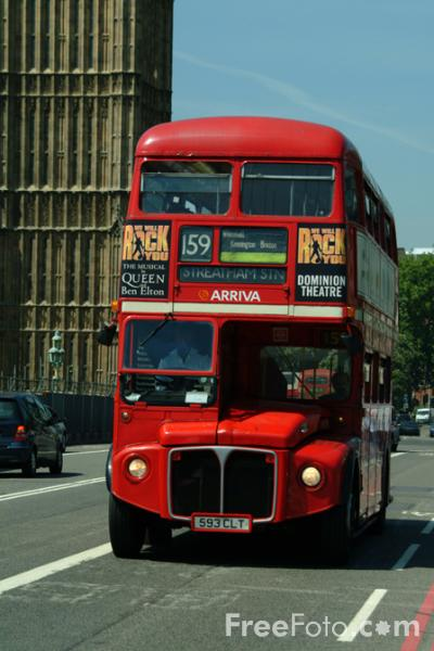 Picture of Arriva London double decker bus - Free Pictures - FreeFoto.com
