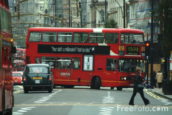 Picture of Arriva London double decker bus, London, England - Free Pictures - FreeFoto.com