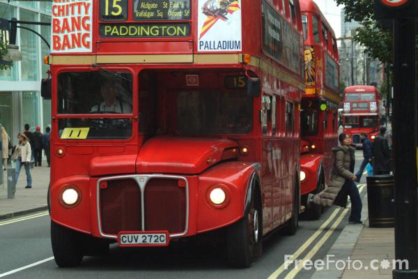 Picture of Stagecoach London double decker bus, London, England - Free Pictures - FreeFoto.com