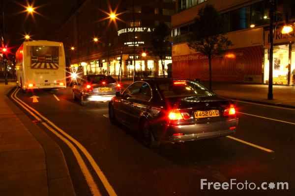 Picture of Oxford Street, London, England - Free Pictures - FreeFoto.com
