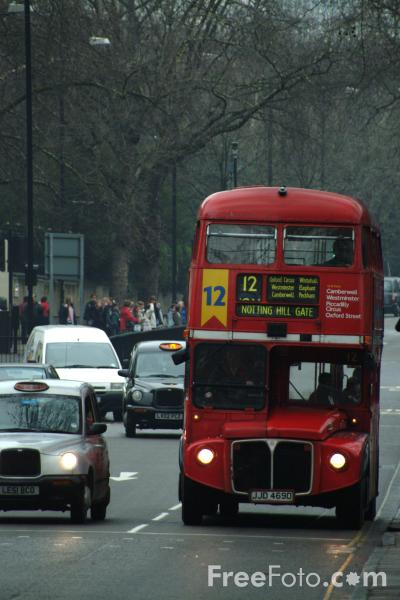 Picture of London Bus - Free Pictures - FreeFoto.com