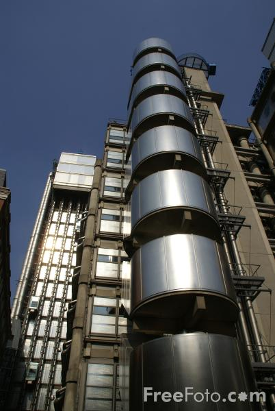 Picture of Lloyds Building - Free Pictures - FreeFoto.com