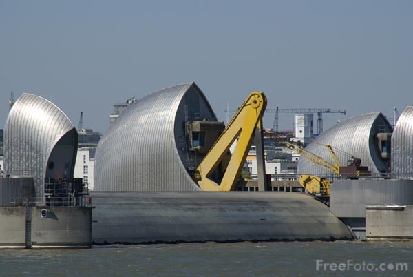 Picture of The Thames Barrier - Free Pictures - FreeFoto.com