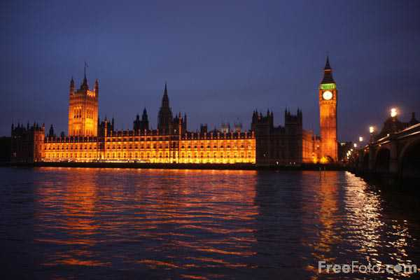 Picture of The Palace of Westminster - Free Pictures - FreeFoto.com
