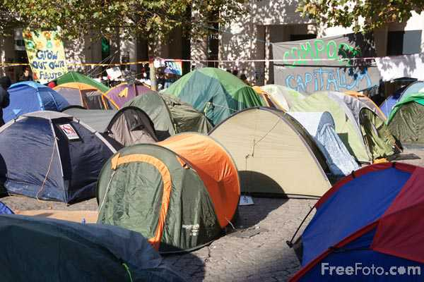 Picture of Occupy London Protest - Free Pictures - FreeFoto.com
