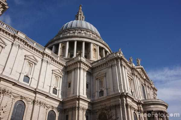 Picture of St Paul's Cathedral, London - Free Pictures - FreeFoto.com