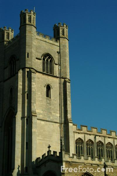 Picture of The Church of St Mary the Great, Cambridge, England - Free Pictures - FreeFoto.com