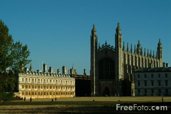 Picture of King's College Chapel, Cambridge, England - Free Pictures - FreeFoto.com