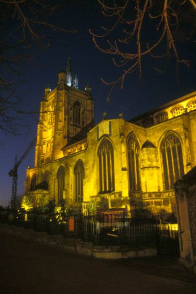 Picture of Norwich at night - Free Pictures - FreeFoto.com